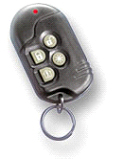 A key fob enabling you to active and deactivate your alarm