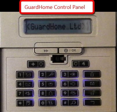GuardHome Control Panel
